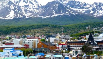 Ushuaia from the port