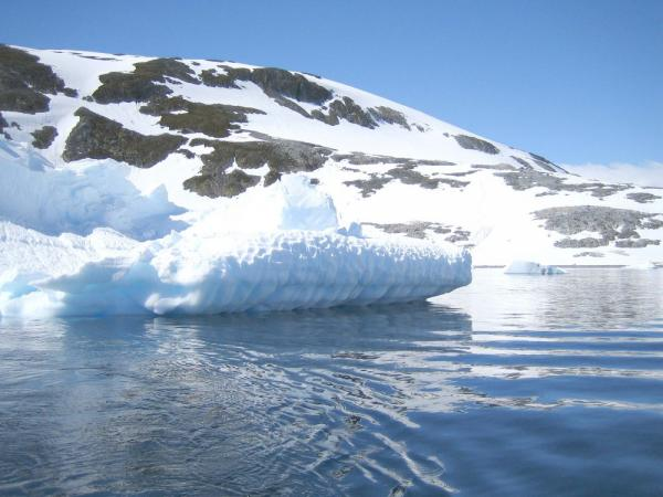 Experiencing icebergs during Antarctic cruise