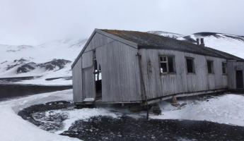 Whaling station building, Deception Island