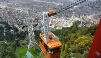 Cable car down Montserrate