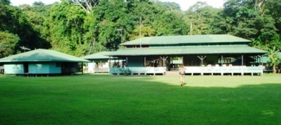 Sirena Ranger Station is located at the headquarters of Corcovado National Park