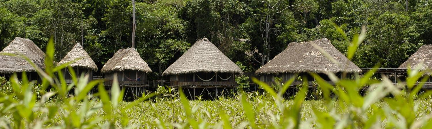 Located on nearly 2 million protected acres, Kapawi Ecolodge is one of the most remote lodges in the Amazon