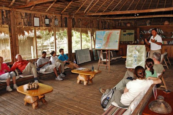 Ample learning opportunites await at Kapawi Ecolodge