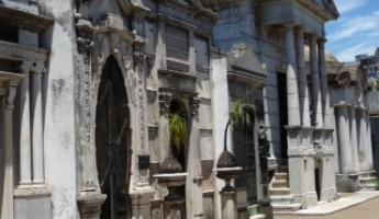 Row Mausoleums in Recoleta Cemetery