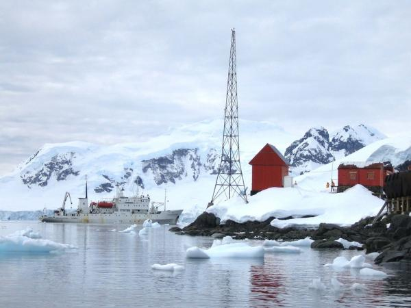 Tour of research station in Antarctica