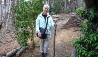 Thank the Lord for my walking stick-my faithful friend