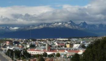 The weather always changes in Ushuaia!