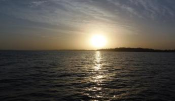 Sunrise on The Gambian River