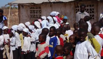Childern at School in Lamin Koto