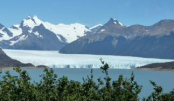 First sight of the glaciers made me teary-eyed!