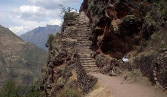 Hiking around Pisac