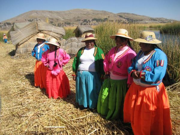 Uros the floating islands