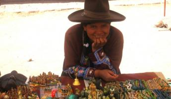 Vendor we met on bus ride to Cusco