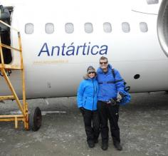 Beginning our Antarctica Air Cruise Adventure