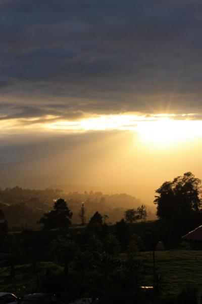 Sunset at Turrialba