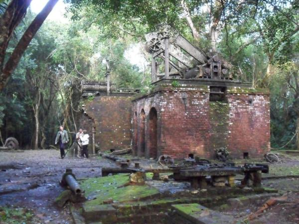Sugar Mill in middle of jungle created by the British