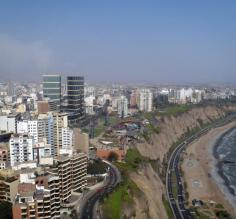 Sailing high in the skies above Lima