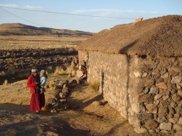 A visit to a traditional Sillustani homestead