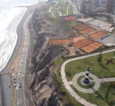 The lighthouse at Miraflores