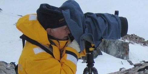 Photography during Antarctic cruise