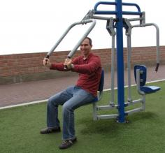 Lima: Outdoor Miraflores gym