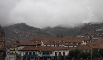 Clouds above Cusco