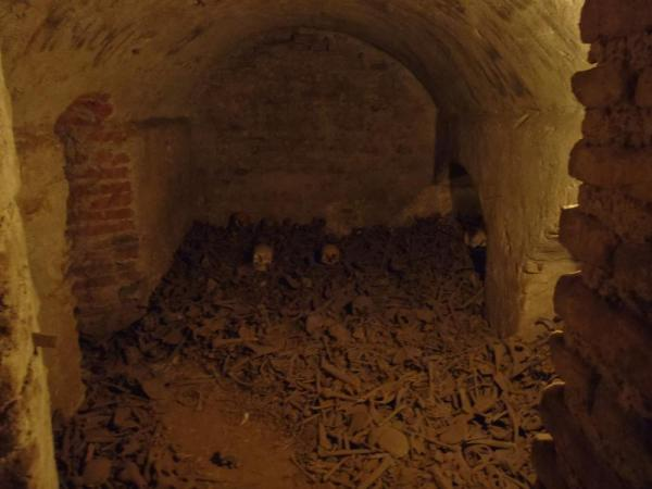 Catacombs under the church