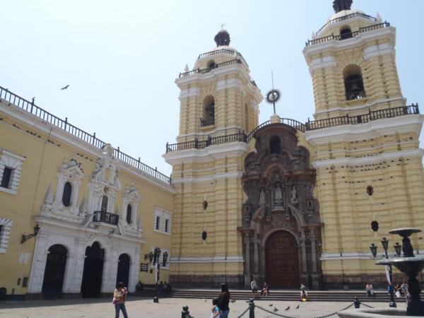 Church de San Francisco, Lima