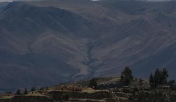 Heading back to Cusco: Variations in lighting