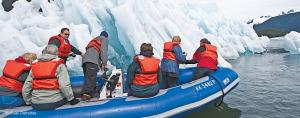 Your expert zodiac drivers will take you up close to Alaska\'s majestic scenery