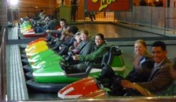 Bumper Cars at the Compensar...