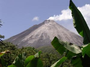 Arenal Volcano on a clear day, Costa Rica