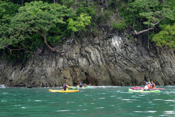 Kayaking the Central Pacific coast in Costa Rica