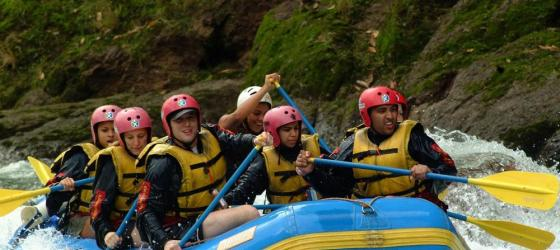 Rafting the Pacuare River!!