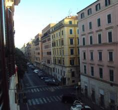 Typical Street in Rome, Italy