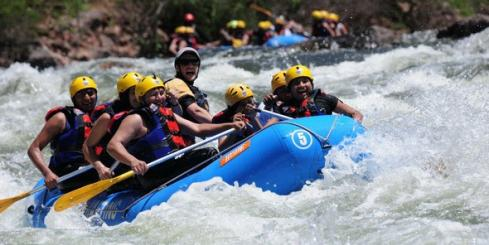 Rafting the Rio Juramento near Salta, Argentina