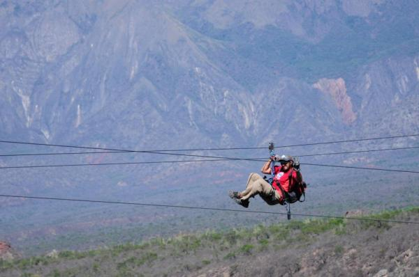 Zipline tour out side of Salta
