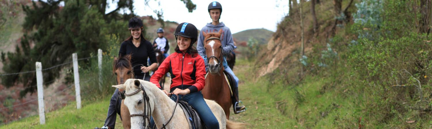 Horseback Riding outside of Cuenca