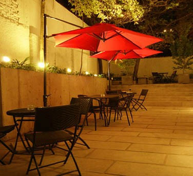 Relax on the patio under the stars