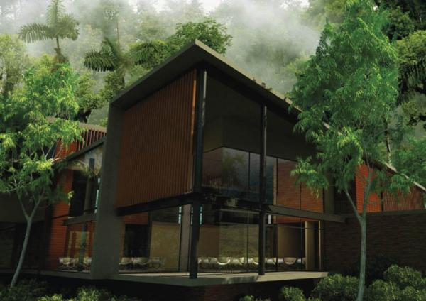 The Lodge and accommodations are built with all the latest amenities, technology and with sustainable products