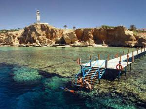 Snorkel amidst one of the world's best coral systems at Sharm El Sheik