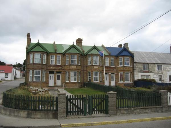 Pensioners Cottages in Stanley, East Falkland