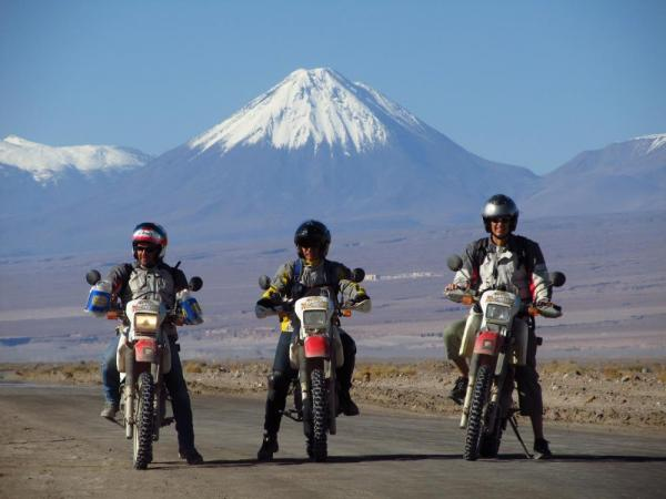 Explore Peru\'s  varied landscapes and terrain by motorcycle.