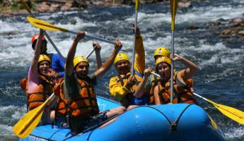 We made it! Rafting the Juramento!