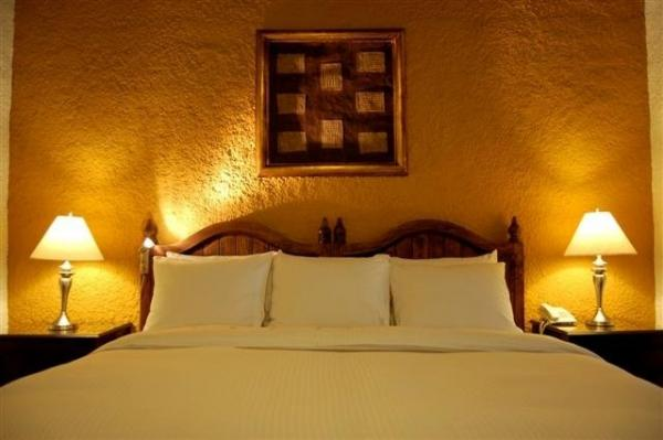 Well equipped rooms offer rest