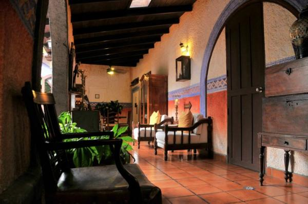 Full of colonial charm, experience the best of Managua at Casa Naranja