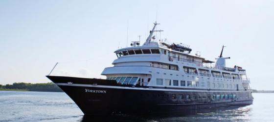 Embark on a small ship cruise aboard the Yorktown