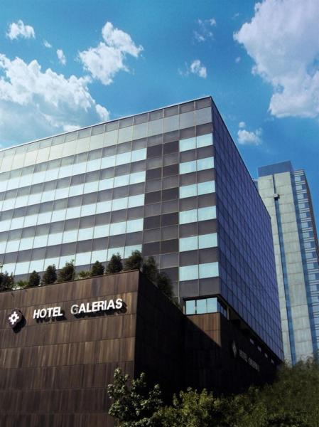 Hotel Galerias, located in the heart of downtown Santiago