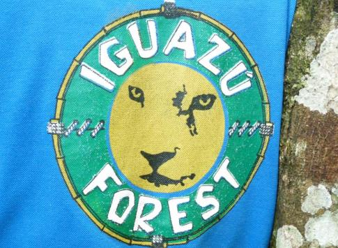 Iguazu Forest sign