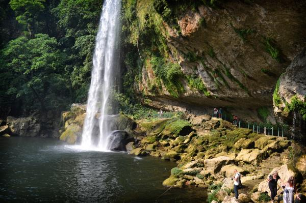 Waterfall in Chiapas